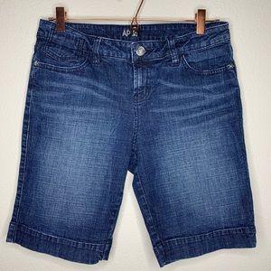 Bermuda Dark Wash Shorts